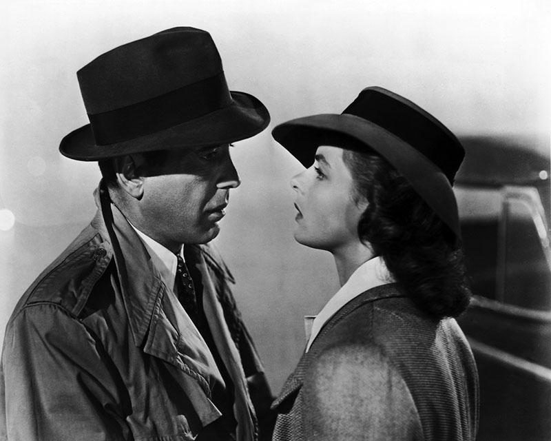 Egyik ikonikus filmje Ingrid Bergmannal, a Casablanca