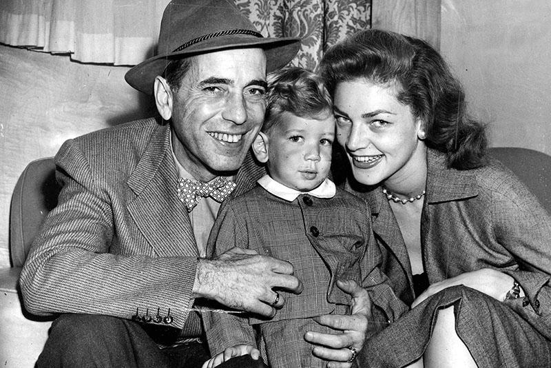Bogart, Bacall, és első gyermekük
