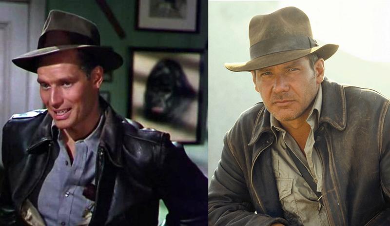 Ki ne látná a hasonlóságot Charlton Heston és Harrison Ford jelmeze közt?