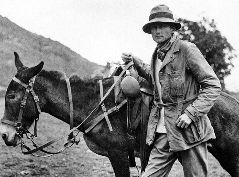 Hiram Bingham, Machu Picchu felfedezője, Indy egyik tudományos előképe