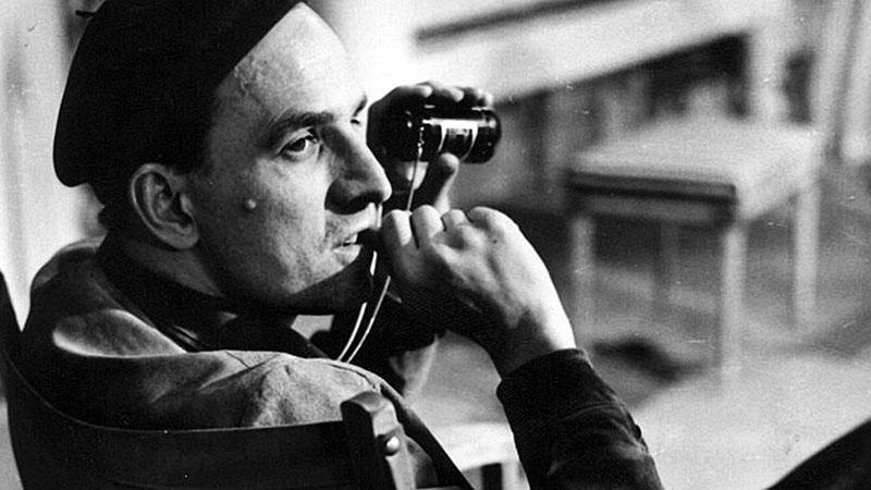 Ingmar Bergman munka közben