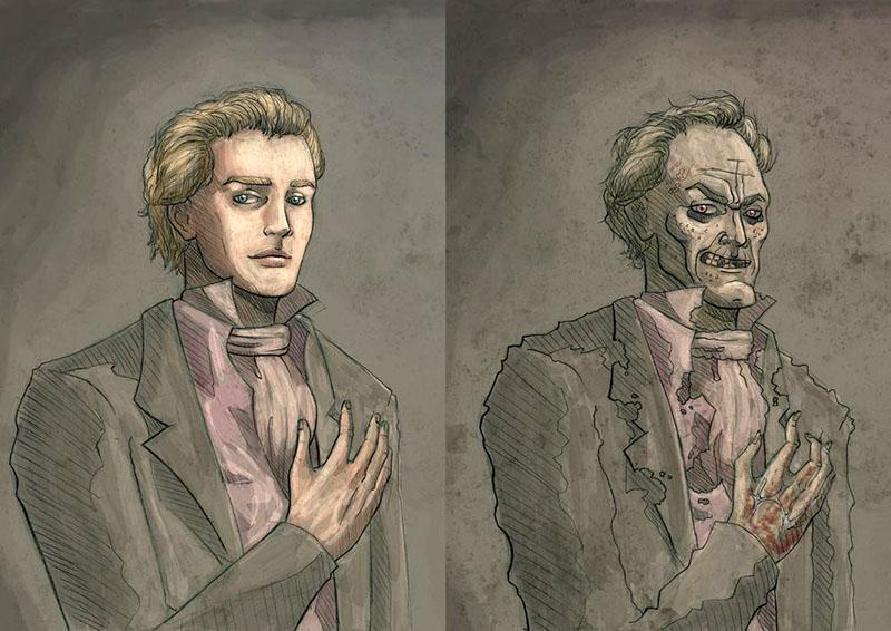 Dorian Gray (Forrás: pinterest.com)