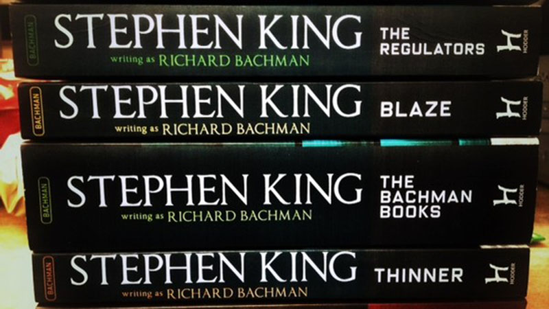 Stephen King hosszú éveken át alkotott Richard Bachman álnéven