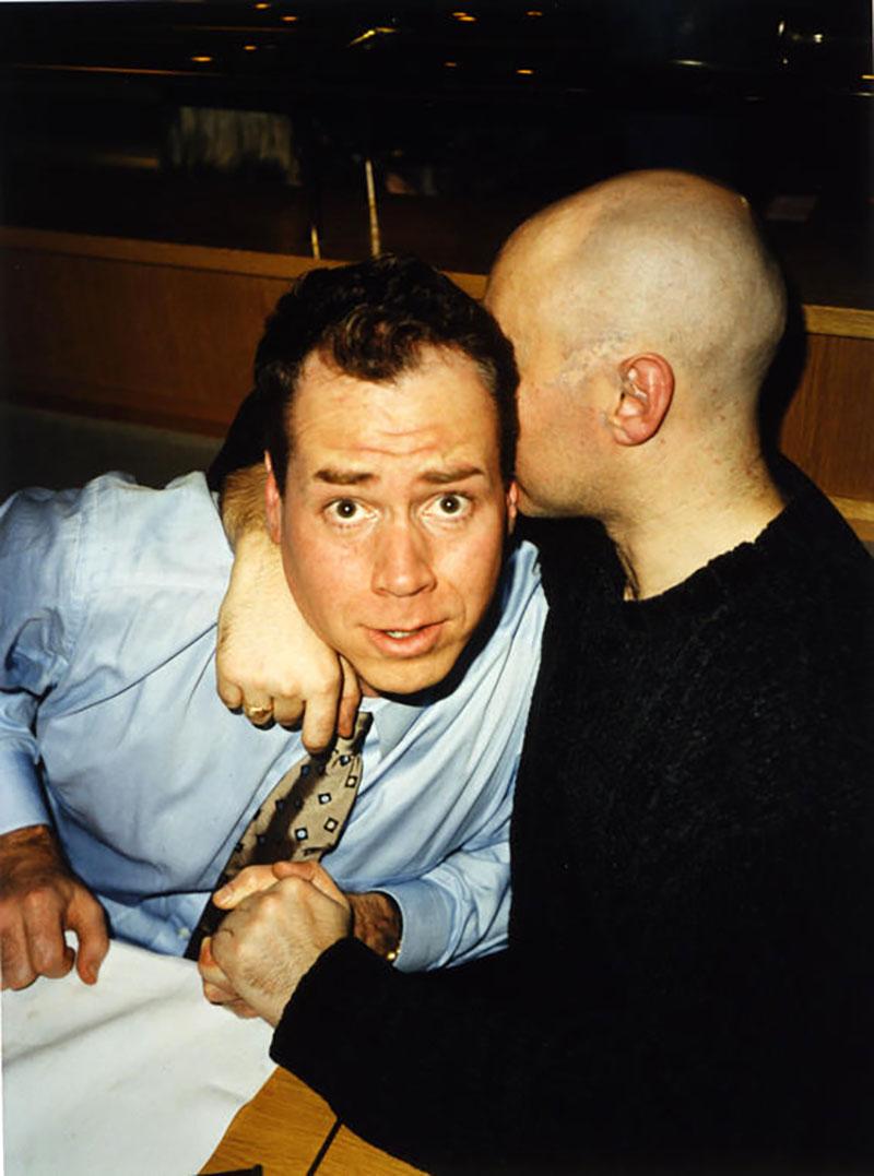 Ellis és Welsh 1999-ben Dublinban