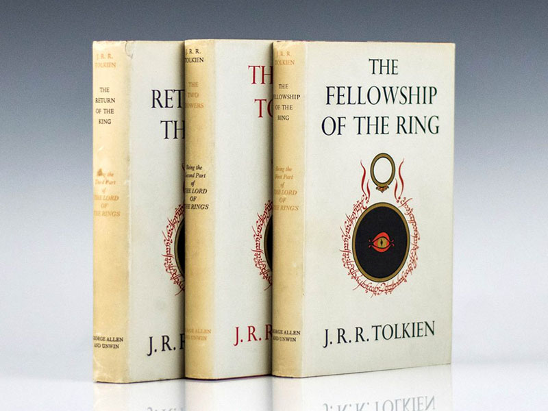A Gyűrűk Ura első kiadása