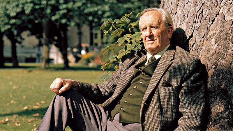 J. R. R. Tolkien 1971-ben Oxfordban