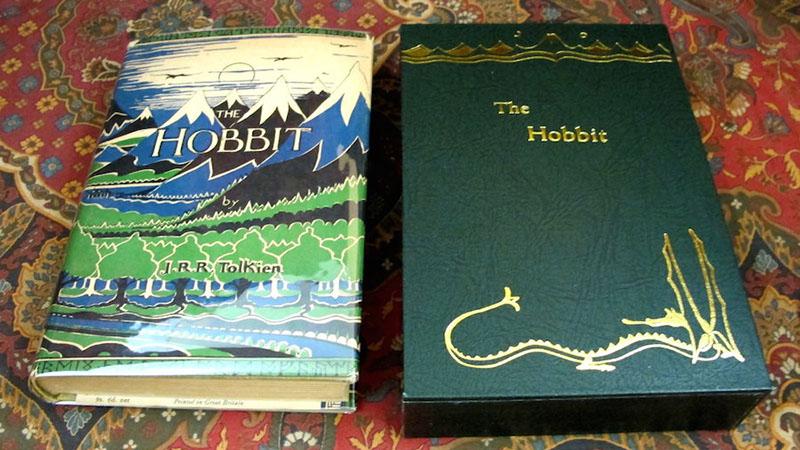 A hobbit legelső angol kiadása