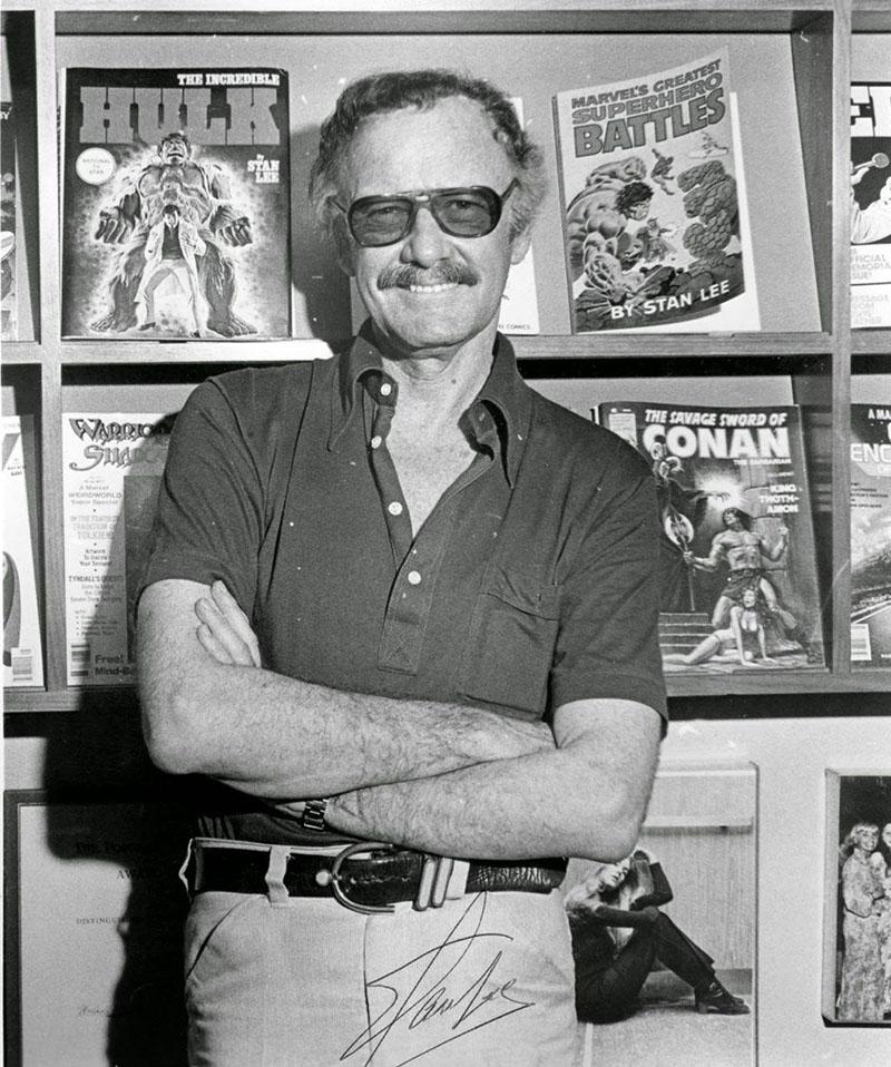Az alkotótárs, Stan Lee