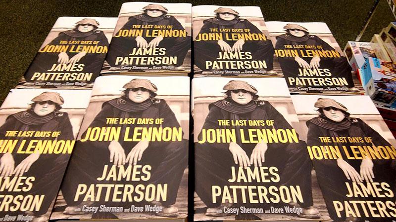 James Patterson megannyi krimi után ezúttal John Lennon utolsó napját elevenítette fel