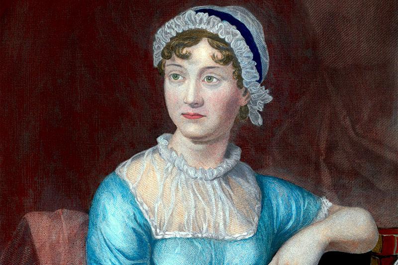 Jane Austen (Forrás: theatlantic.com)