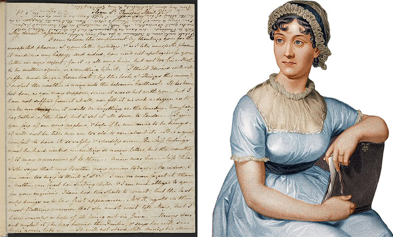 Digitalizálták Jane Austen kéziratait