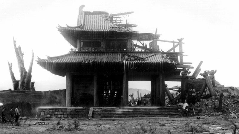 A vihar kapujában (Kurosawa Akira; 1950)