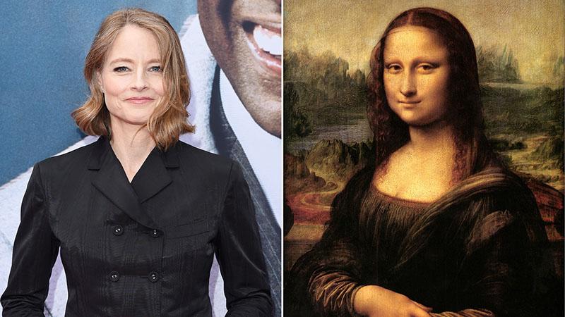 Jodie Foster a Mona Lisáról forgat