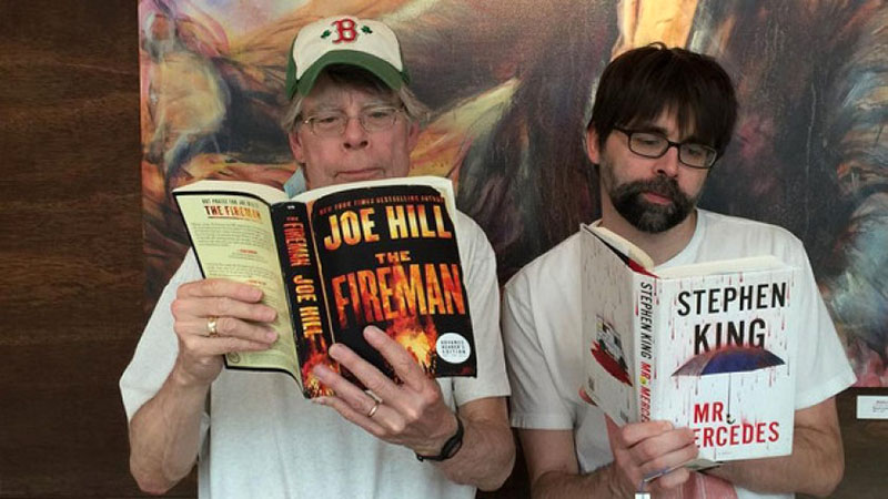 Stephen King és fia, Joe Hil
