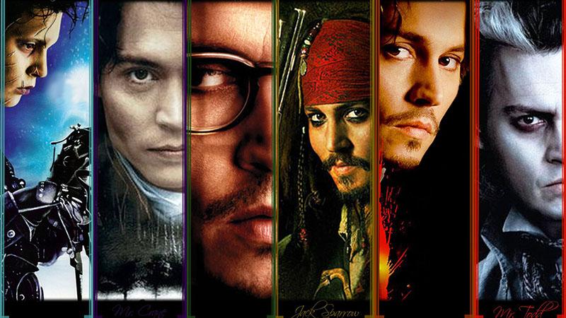 Johnny Depp leghíresebb, és legjobb szerepei