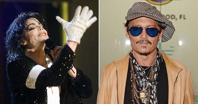 Bizarr Jacko-filmet készít Johnny Depp