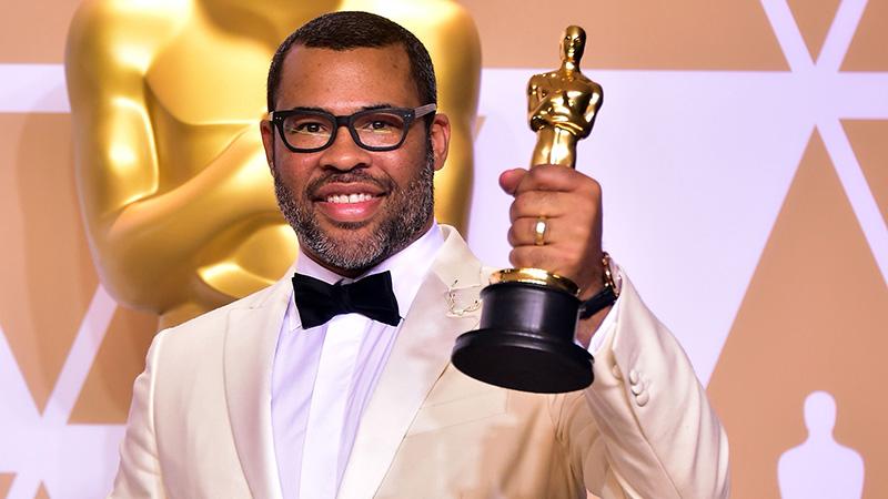 Peele az Oscar-díjjal