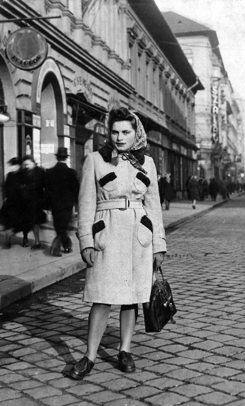 Renia Kukiełka Budapesten, 1944-ben