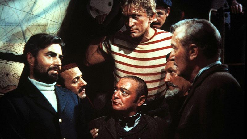 James Mason, Peter Lorre és Kirk Douglas az egyik leghíresebb Nemo kapitány adaptációban