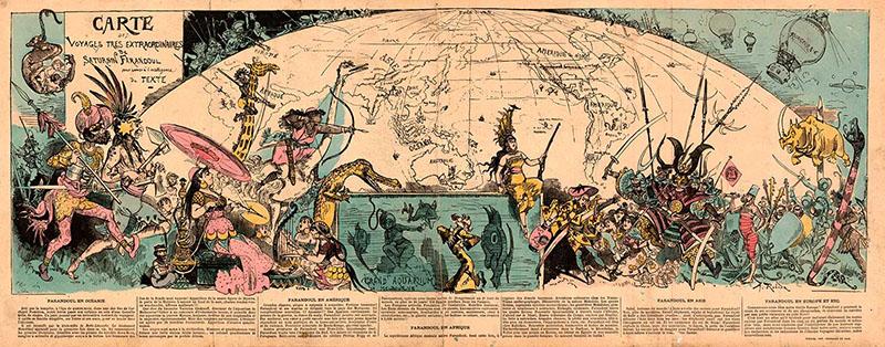 Illusztráció Verne regényeihez