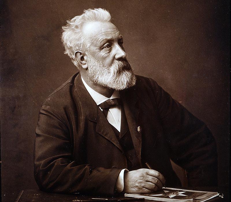 A szerző időskori portréja