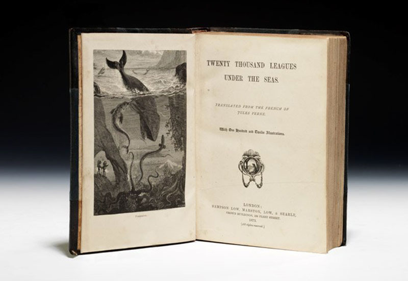 A Nemo kapitány egyik első, illusztrált kiadása