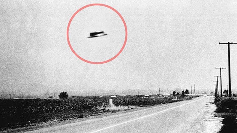 Az egyik leghíresebb fotó egy észlelésről