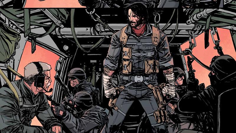 Keanu Reeves képregényben is olyan elpusztíthatatlan, mint John Wick-ként