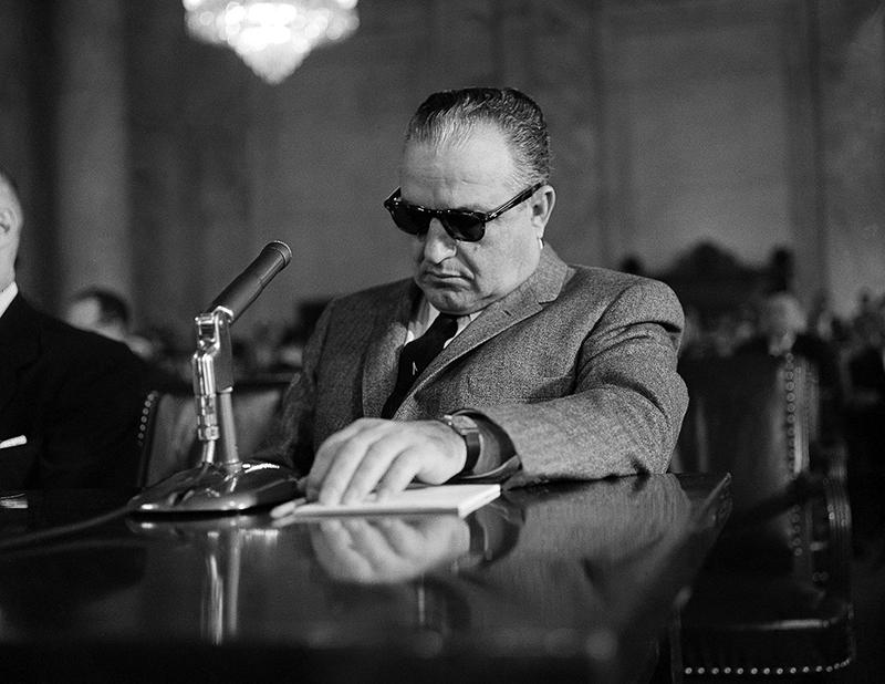 Carlos Marcello, egy 1959-es bírósági meghallgatáson