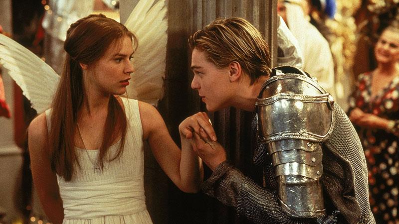 Claire Danes és Leonardo DiCaprio