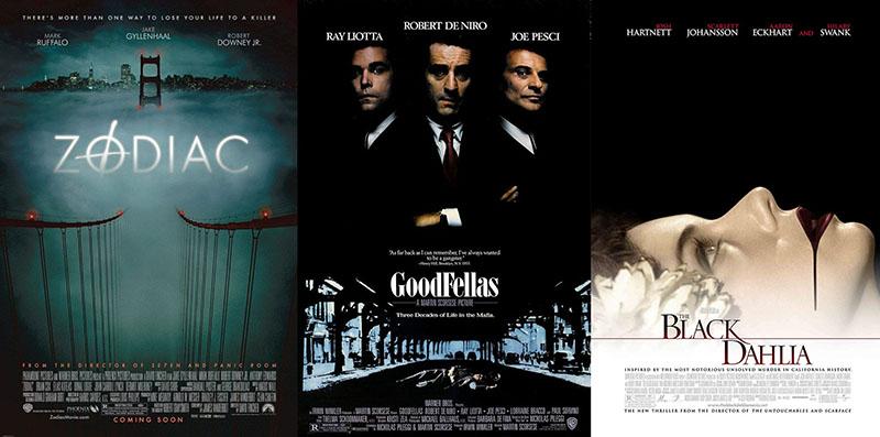 Bűnügyi filmek, megtörtént események alapján