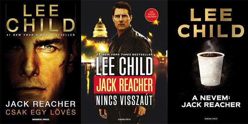 Lee Child néhány Reacher-regénye