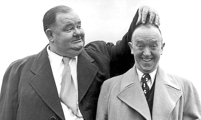 Stan Laurel és Oliver Hardy