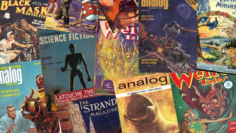 Legendás magazinok a szórakoztatóirodalom hőskorából