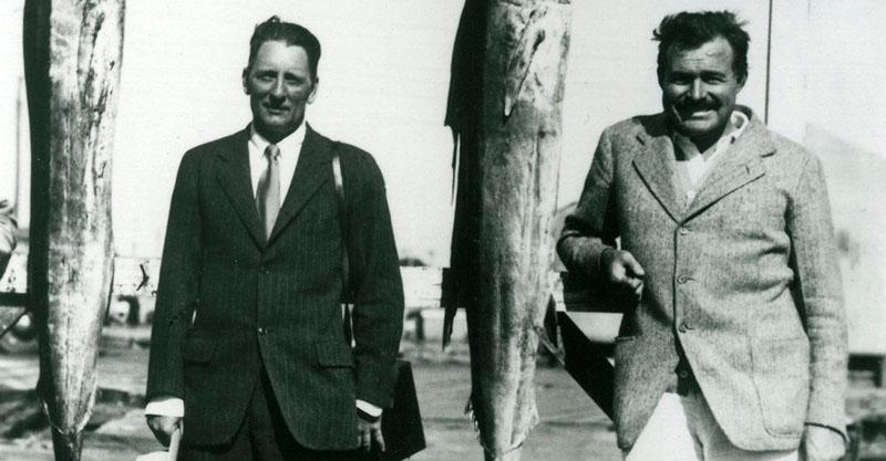 Perkins és Ernest Hemingway