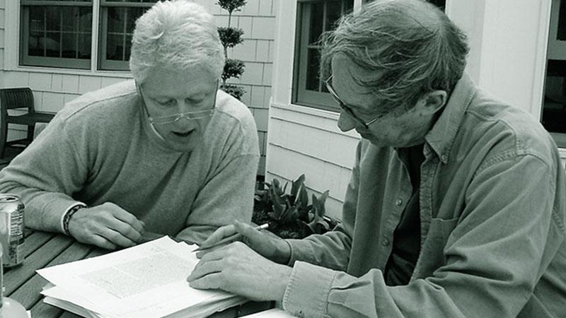 Bill Clinton és Robert Gottlieb