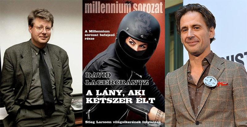 Larsson (balra) és Lagercrantz