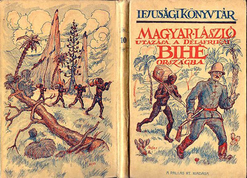 Magyar László egyik könyv formában megjelent úti beszámolója