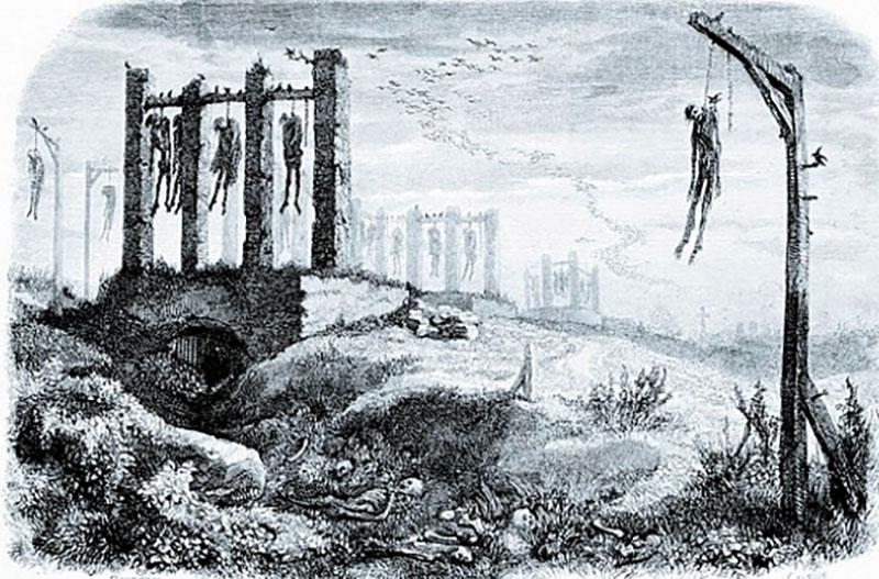 Illusztráció Az akasztottak balladájához