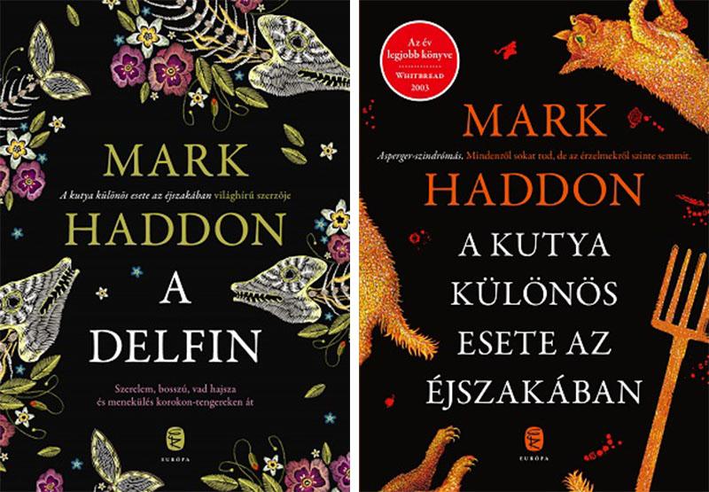 A szerző Európa Kiadónál megjelent regényei