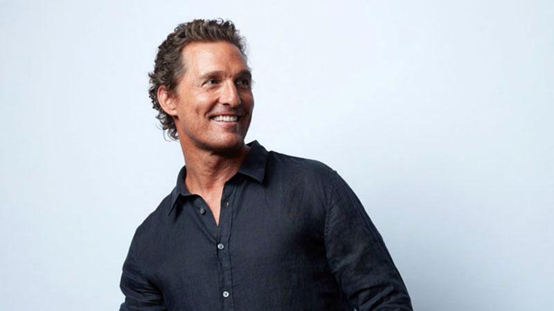Matthew McConaughey önéletrajza novemberben jelenik meg