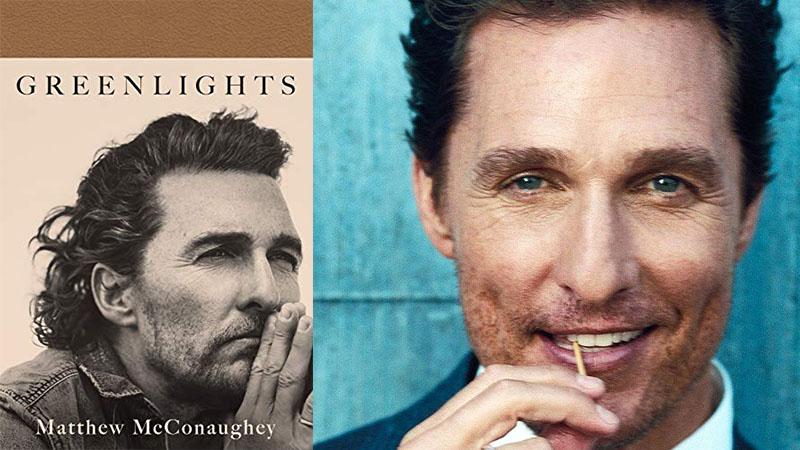 Greenlights címmel jelent meg a tengerentúlon az Oscar-díjas színész memoárja