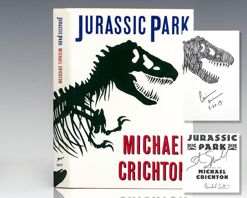 A Jurassic Park első amerikai kiadásának borítója