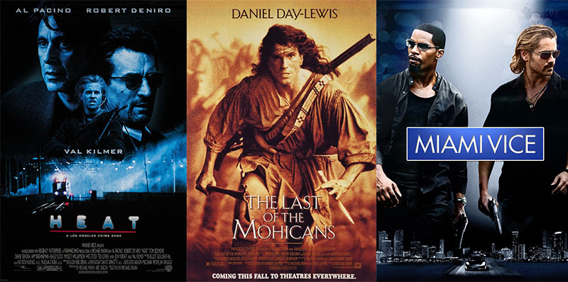 Michael Mann filmjei