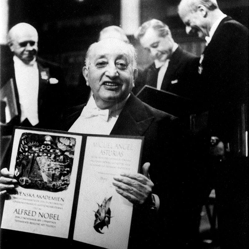 Asturias 1967-ben az irodalmi Nobel-díjjal