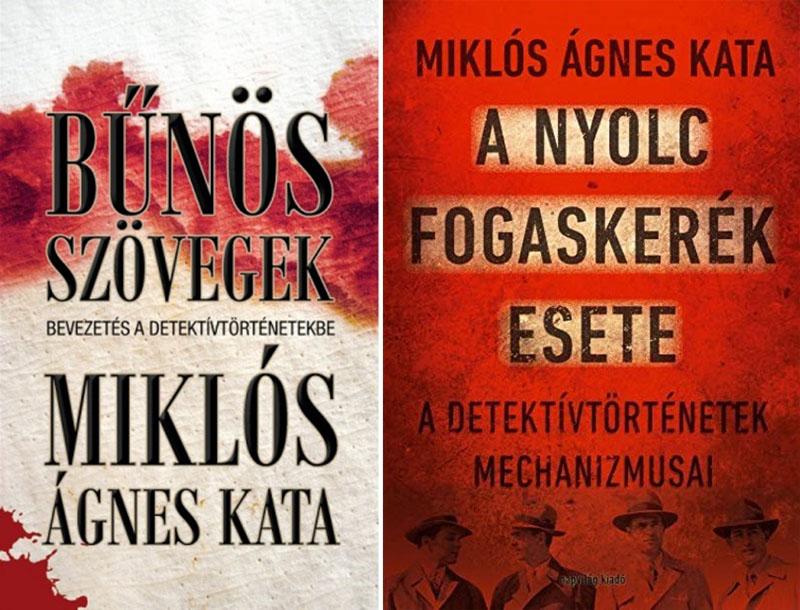 A szerző két különálló kötetben foglalkozott a krimi műfajával