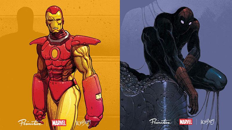 Moebius és a Marvel szuperhősök