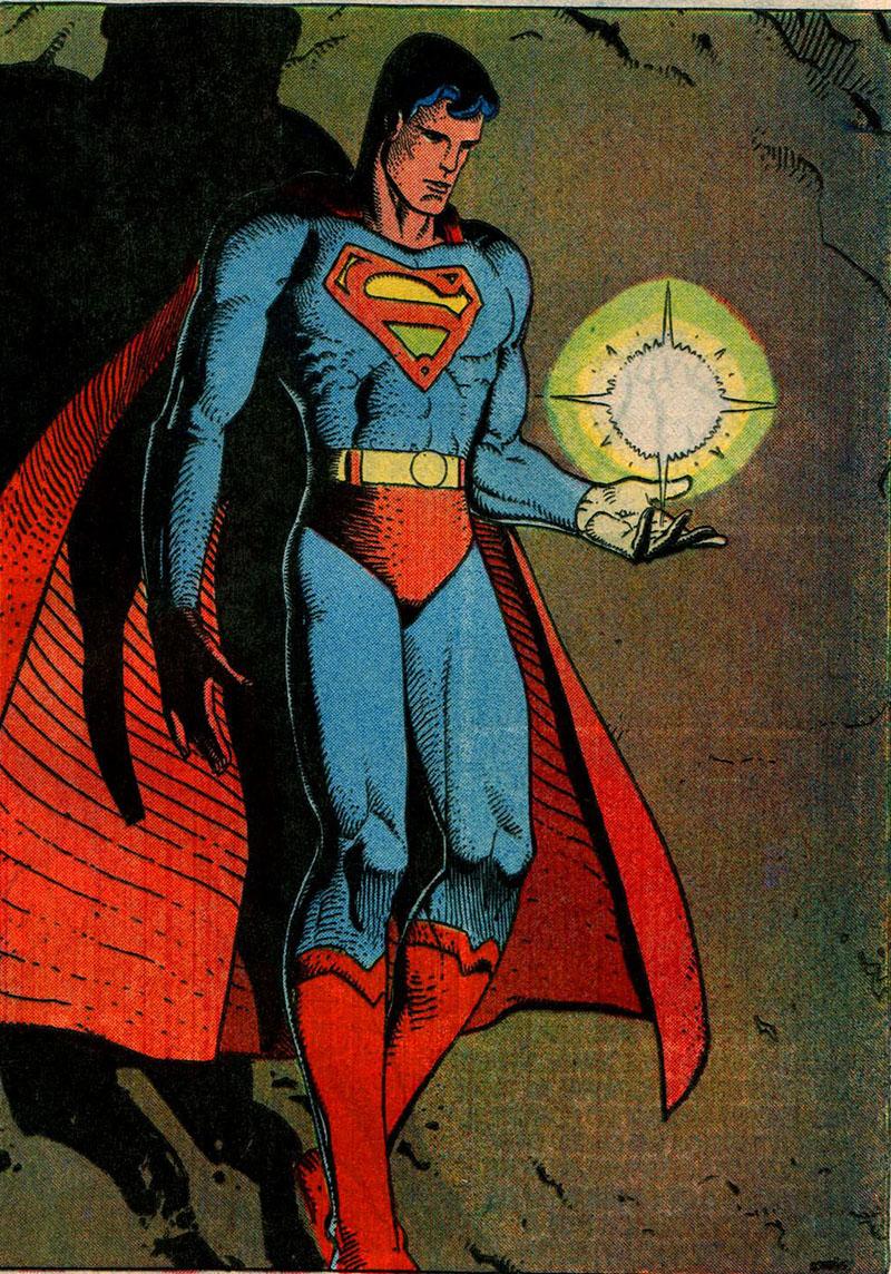 Moebius és a DC: Superman