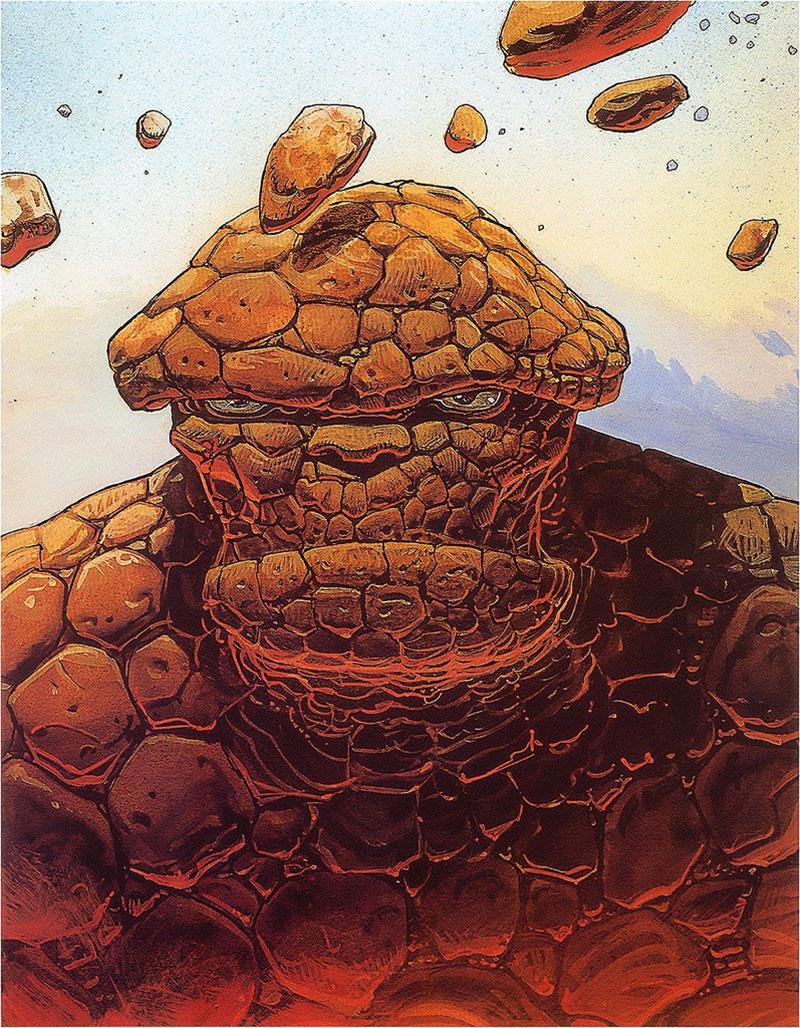 Moebius és a Marvel: Lény
