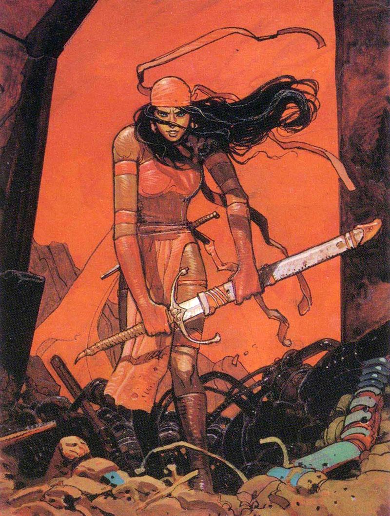 Moebius és a Marvel: Elektra